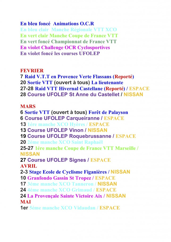 Calendrier Vehicules1