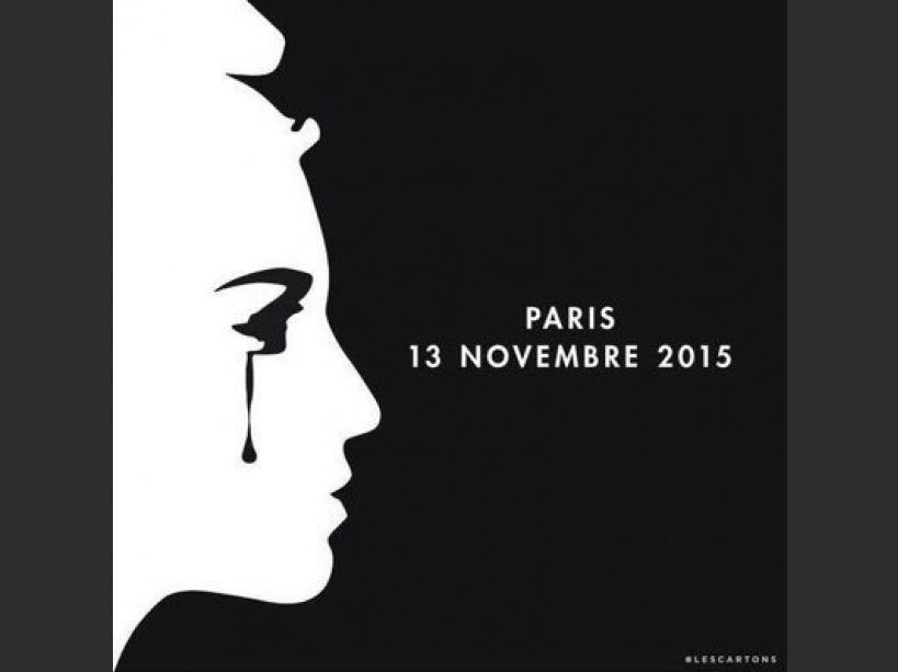 EN IMAGES. ''Pray for Paris'' : les hommages sur les réseaux sociaux