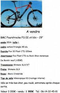 annonce VTT M. Auroux