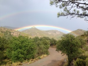 Sortie du mercredi 21 septembre avec l'ecole de Vtt. On a joué avec la pluie et on est passé entre les gouttes !