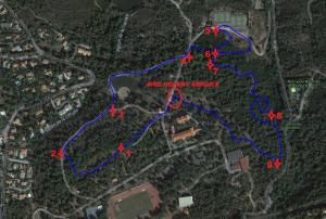 Parcours 3 - RAIDER 2017 (2,60 km) Benjamin (H F) + Minimes (F) AVEC POINTS SECU