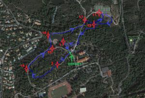 Parcours 2 - RAIDER 2018 (1,80 km) -Pupilles (2)